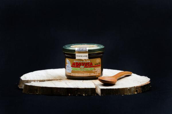 Bote morcilla con compota de manzana Morvega